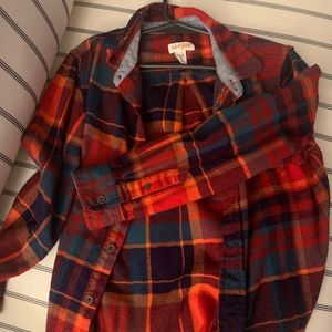 Other - Boy's button up flannel